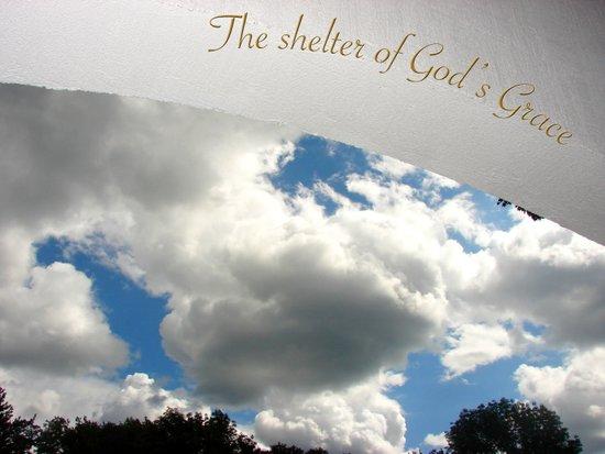 The Shelter of God's Grace Art Print