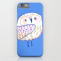 owl print, owl illustration, owl art, owl  iPhone 6 Slim Case