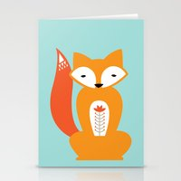 Ferdinand The Fox Stationery Cards