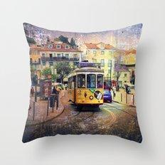 Lisbon 6 Throw Pillow