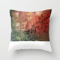 The Light Is Changing Co… Throw Pillow