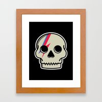 Skully Sane Framed Art Print