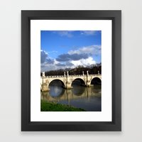 Ponte Sant'Angelo Framed Art Print