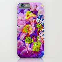 iPhone Cases featuring flowers magic by Walter Zettl