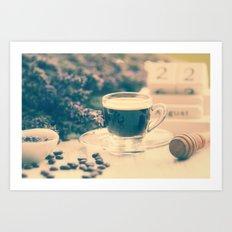 Coffee Break In The Lave… Art Print
