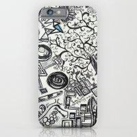 Black/White #2 iPhone 6 Slim Case