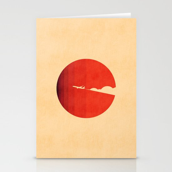 The long goodbye Stationery Card