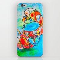 Water Souls iPhone & iPod Skin