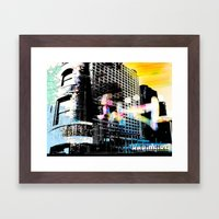 Films Framed Art Print
