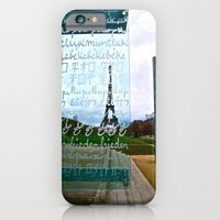 iPhone & iPod Case featuring Paris  by JuliHami