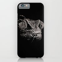 iPhone & iPod Case featuring The One Most Adaptable to Change (Chameleon) by Nathan Cole