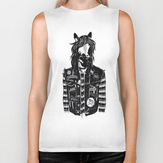 M E G A H O E R S E Biker Tank