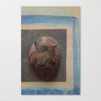 Sleeping Madame Canvas Print