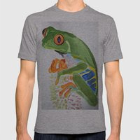 Frog Mens Fitted Tee Athletic Grey SMALL