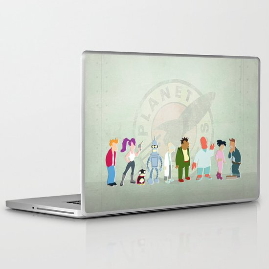 Planet Express Laptop & iPad Skin