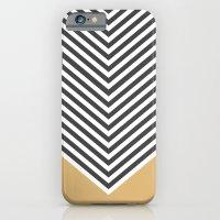 Gold Chevron iPhone 6 Slim Case