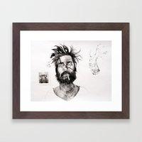 Domesticated #1 Framed Art Print