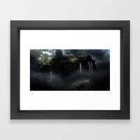 Castle in the Clouds Framed Art Print