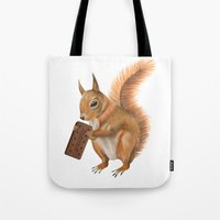 Super squirrel. Tote Bag