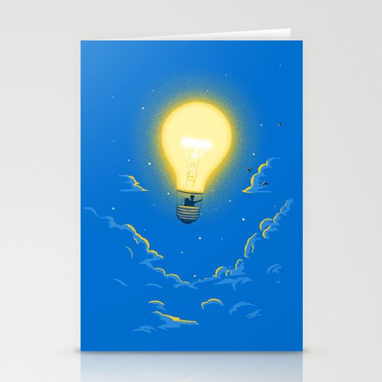 Let the light lead the way Stationery Card