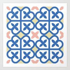 Floor Tile 3 Art Print