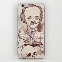 Poe iPhone & iPod Skin