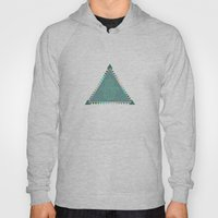 Merkaba Triangle Green Hoody