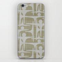 MCM Frarndt Silver iPhone & iPod Skin
