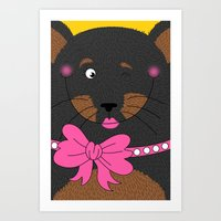 Dog Love,  Kids Wall Art… Art Print