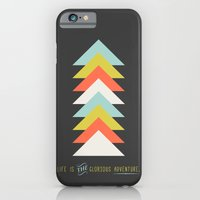 iPhone & iPod Case featuring Life is the glorious adventure by Menina Lisboa