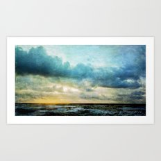 The Magical Sea  Art Print