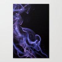 Veil Of Smoke Canvas Print