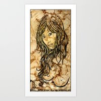 Coffee Dreams  Art Print