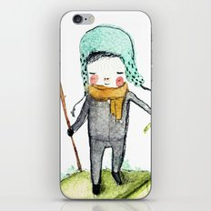 Pedro woodland people iPhone & iPod Skin
