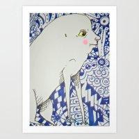 Oh, You! Art Print