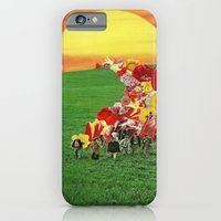 iPhone & iPod Case featuring sunset by Caroline A