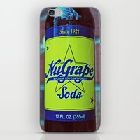 NuGrape classic soda iPhone & iPod Skin