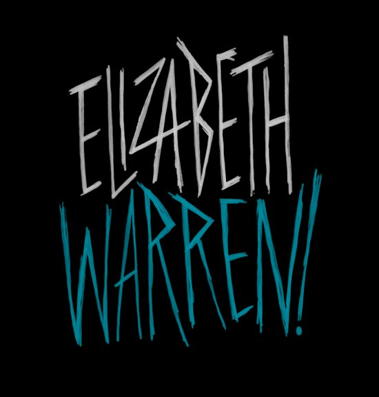 Elizabeth Warren! Canvas Print