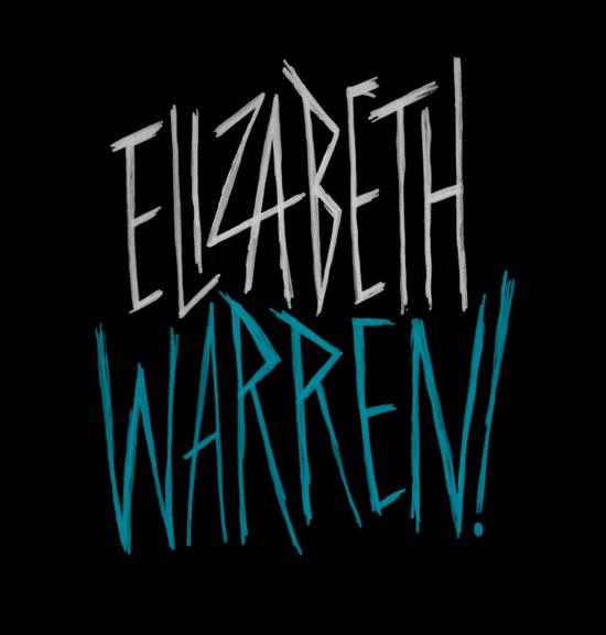 Elizabeth Warren! Art Print