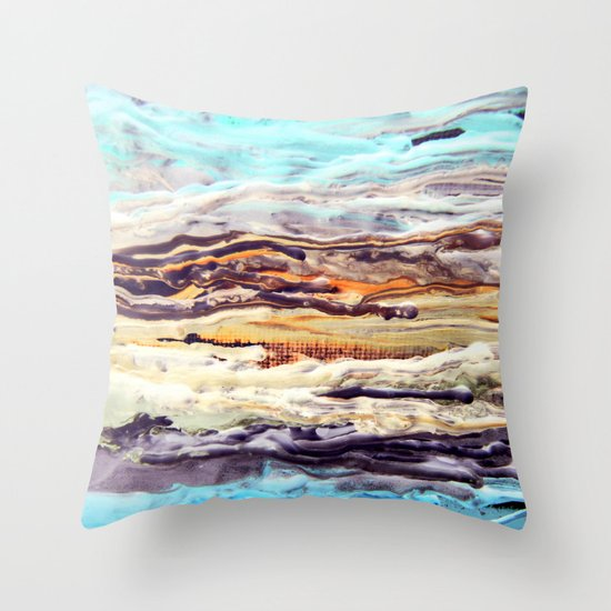 Wax #1 Throw Pillow