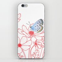 Cosmos and Butterfly iPhone & iPod Skin