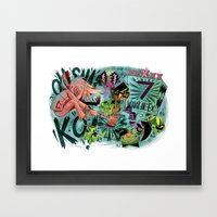 Scott Pilgrim, Fan Art Framed Art Print