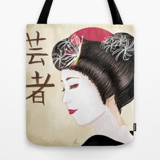 Geisha - Painting Tote Bag