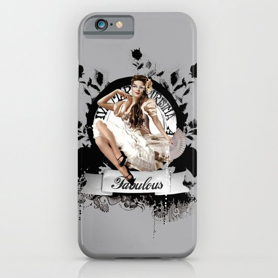 Lady Fabulous iPhone & iPod Case