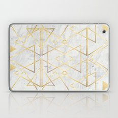 Wire GOld Triangle Laptop & iPad Skin