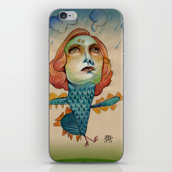 INTO THE STORM iPhone & iPod Skin