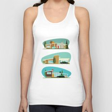 Hollywood Bungalows Unisex Tank Top