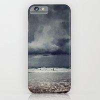 iPhone & iPod Case featuring elemental - surf and clouds by Dirk Wuestenhagen Imagery