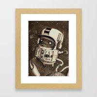 Mighty Manfred Framed Art Print
