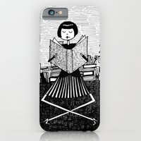 iPhone & iPod Case featuring Bookworm by kate gabrielle